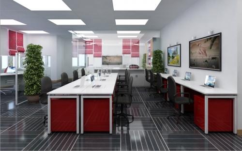 Thiết kế nội thất văn phòng Paragon