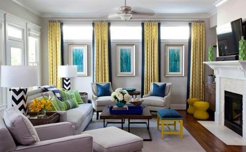Cách thiết kế nội thất liên quan đến hiệu ứng của màu tường
