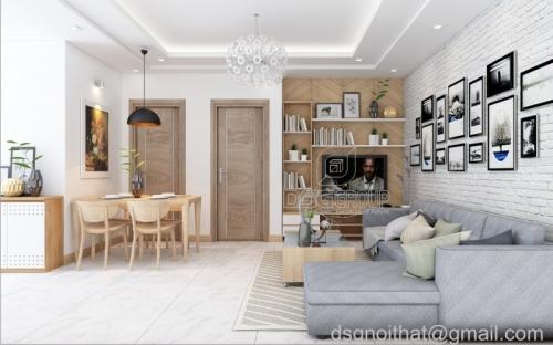 CĂN HỘ 1 PHÒNG NGỦ VINHOMES TÂN CẢNG - Thiết kế căn hộ