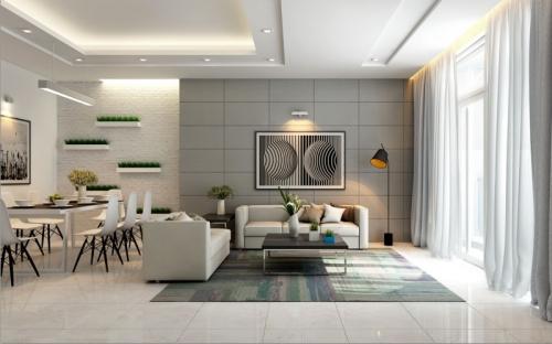 Thiết kế nội thất căn hộ Dragon Hill