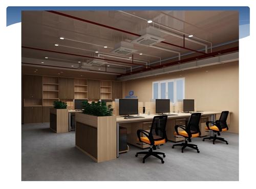 Thiết kế văn phòng công ty R-PAC