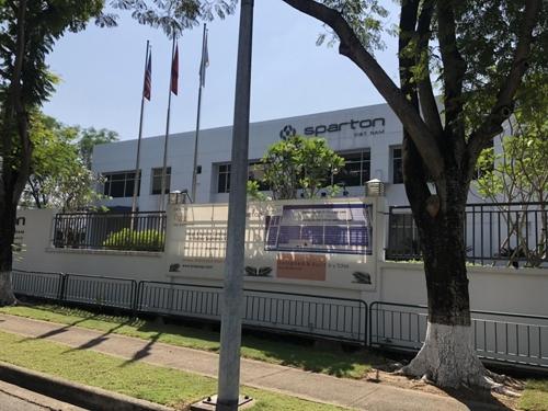 Thiết kế công trình văn phòng làm việc Sparton Vietnam