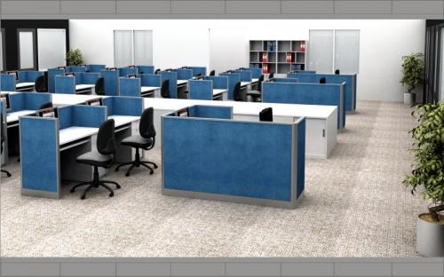 Thiết kế nội thất Công Ty Dệt May Delta