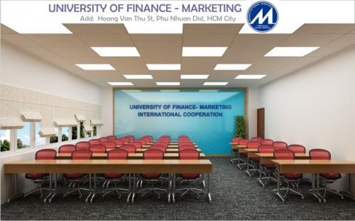 Thiết kế nội thất trường Đại Học Marketing