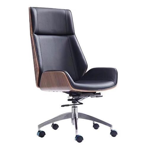 Ghế văn phòng LUS101H, chất liệu: PU, chân thép