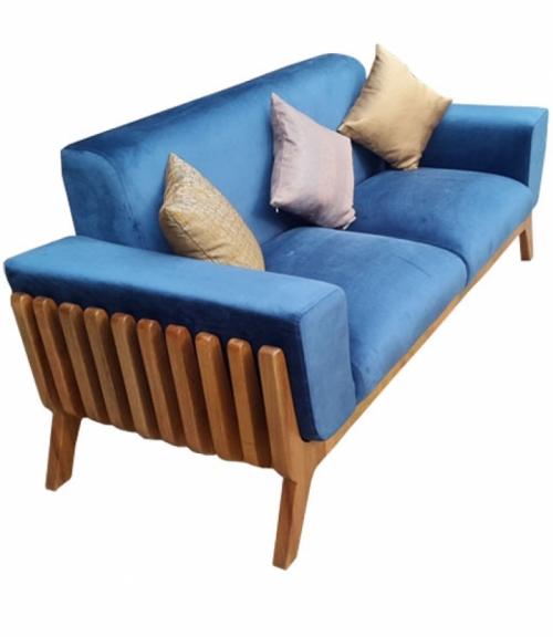 Ghế sofa SF 02.037, Chất liệu: PU, nhôm mạ chrome