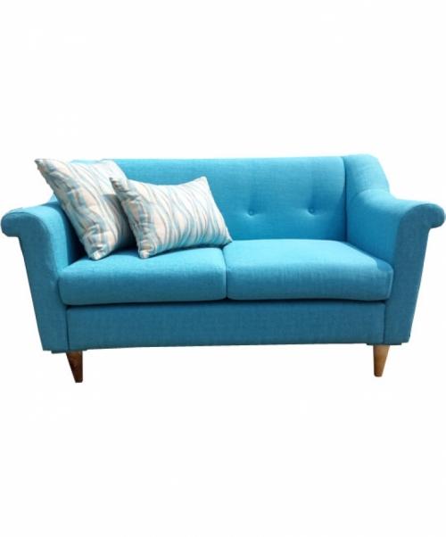 Ghế sofa SF 02.038, Chất liệu: PU, nhôm mạ chrome