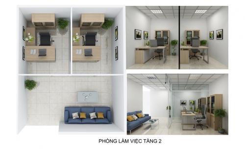 Không gian làm việc nhỏ nên chọn nội thất như thế nào?