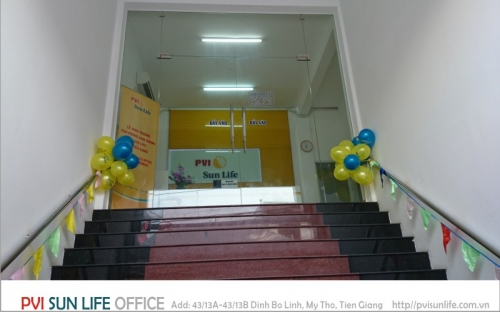 Thiết kế nội thất PVI Tiền Giang