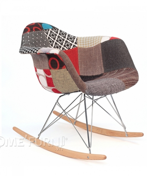 Ghế thư giãn RAR fabric, Chất liệu: gỗ ash (gỗ tần bì)