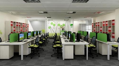 Thiết kế văn phòng  công ty open