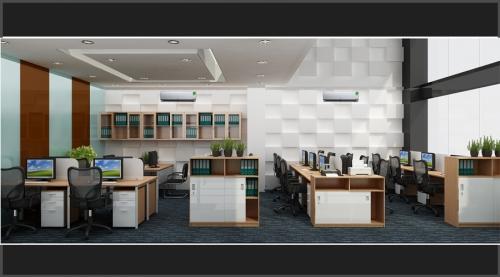 Thiết kế nội thất văn phòng toàn nhà trung nam