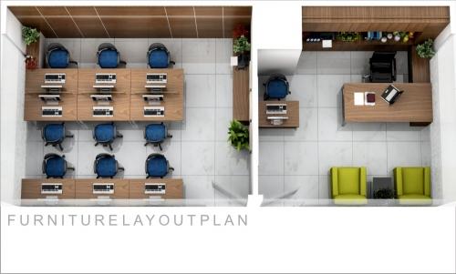 Thiết kế nội thất văn phòng VPDSG01