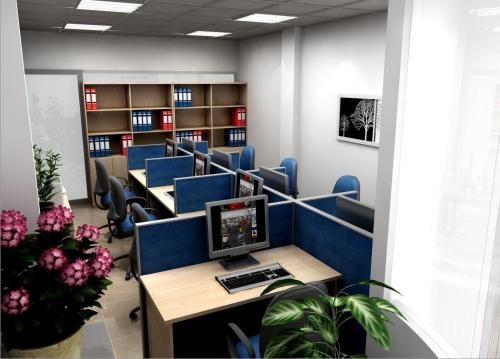 Thiết kế phòng nhân viên NVDSG01