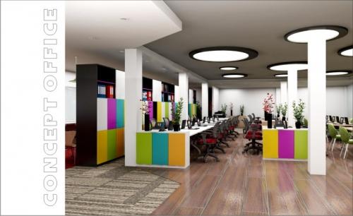 Thiết kế nội thất phòng tập Yoga OM YOGA & WELLNESS HUB