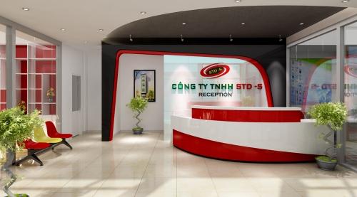 Thiết kế văn phòng Cty TNHH STD-S