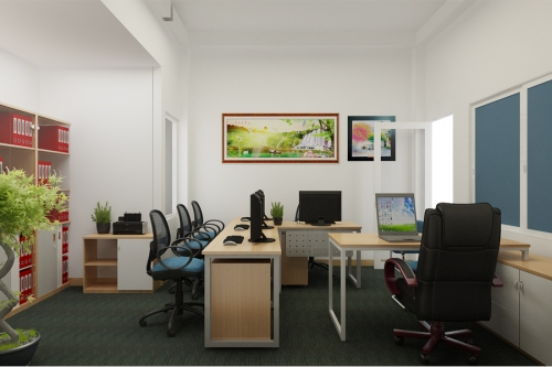 Thiết kế văn phòng tòa nhà nguyễn văn thủ quận 1