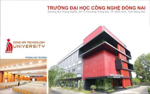 Thiết kế nội thất Trường Đại Học Công Nghệ Đồng Nai