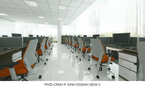 Thiết kế văn phòng BDS quận 2