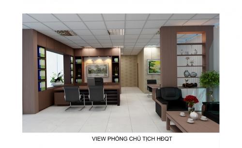 Thiết kế văn phòng SONADEZI LONG BÌNH