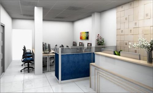 Vật liệu tạo nội thất văn phòng